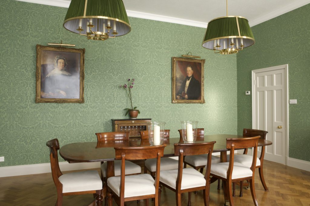 Lovely Little Greene Dining Room