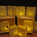 Luminaries Book Decorations Wedding