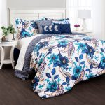 Lush Decor Floral Paisley Piece Comforter Set Bedding Sets