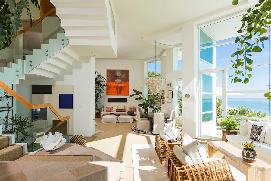 Luxurious Masterfully Crafted Paradise Cove Beach House Malibu