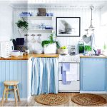Luxurius Light Blue Kitchen