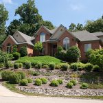 Luxury House Hill Landscaping Gardening