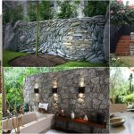 Magnificent Outdoor Stone Walls Beautify Your