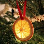 Make Original Christmas Tree Decoration Orange