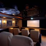 Marvelous Movie Theater Accessories Decorating Ideas Home Traditional