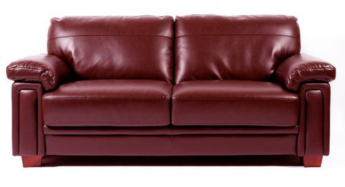 Memphis Seater Leather Sofa Settee