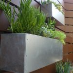 Metal Hanging Planter Box Horizontal Fence
