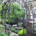 Metal Wedding Arch Pinterest Tulle Indoor Arches