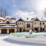 Million Waterfront Stone Mansion Montreal Canada Homes