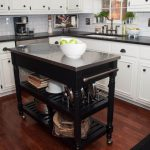 Mini Kitchen Cart Islands Without Wheels Granite Portable Island