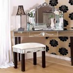 Miscellaneous Corner Makeup Vanity Table Interior Decoration Home Design