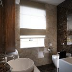 Modern Bathroom Design Scheme Interior