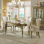 Modern Classic Dining Room Spindle Back S White Finished Wooden