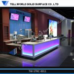 Modern Colors Led Mobile Portable Bar Counter Movie Cinema