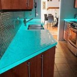 Modern Glass Kitchen Countertop Ideas Latest Trends Decorating