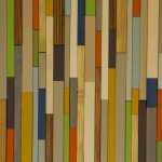 Modern Wood Art Mid Century Wall New Sculpture Colour