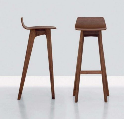 Morph Modern Contemporary Wooden Bar Stool Designs Formstelle
