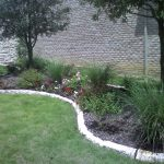 Natural Landscape Edging Stone Flower Bed Borders Wall Border Interior