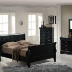 Night Stand Black Headboard Bedstead Desk