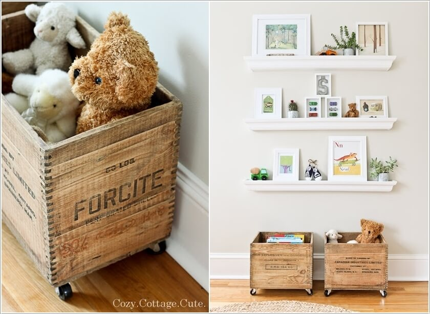 Nursery Toy Storage Ideas