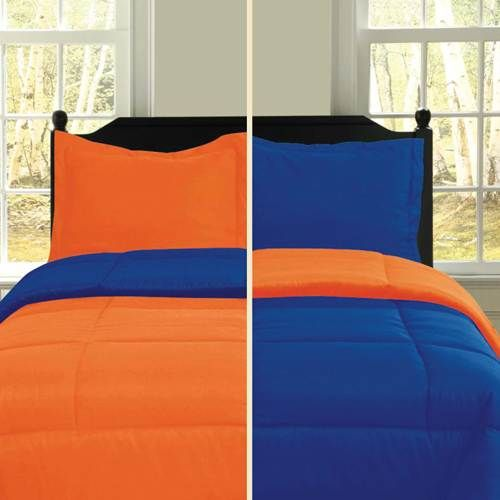 Orange Blue Bedding Sets Warmth Vibrance