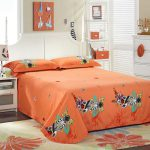 Orange Blue Comforter Set Home Design