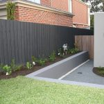 Paling Fences Nailed Fencing Front Feature Fence Sliding Gate