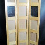 Panel Wood Room Divider Privacy Curtain Frames Screen