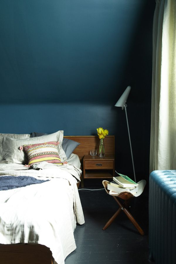 Peacock Blue Bedrooms