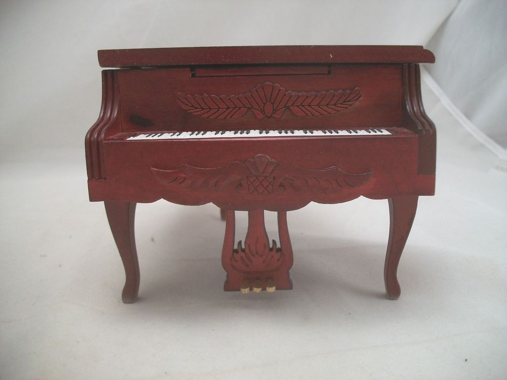 Piano Baby Grand Scale Miniature Dollhouse Wooden Furniture