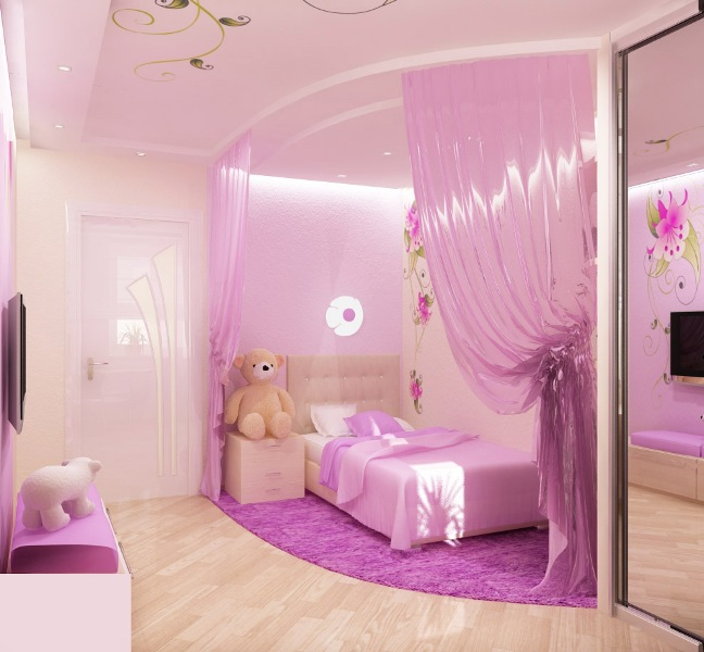 Pink Bedroom Design Little Princess