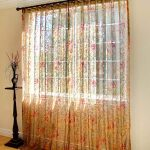 Planning Ideas Celadon Floral Sheer Ikea Panel Curtain Your