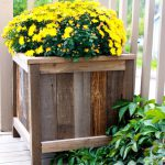 Planters Upcycled Fence Wood Friendly Home Pinterest