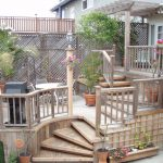 Pleasant Outdoor Small Deck Designs Inspirations Your Backyard