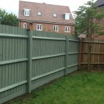 Popular Painted Wood Fence Jessica Color