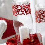 Quick Easy Valentine Day Candle