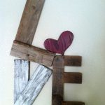 Really Cool Rustic Love Reclaimed Wood Valentine Home Decor Via