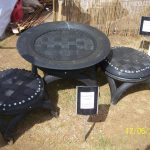 Recycled Tyre Table Chairs Leonora Ellie Enking