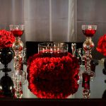 Red Black Wedding Decorations Tropicaltanning