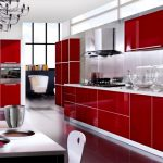 Red Cabinet Kitchen Cabinets