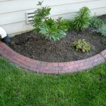Red Cobblestone Brick Flower Bed Complete Landscape