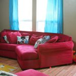 Red Turquoise Living Room Nana