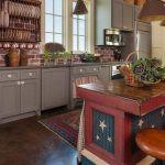 Red White Blue Kitchen Cabinets Home