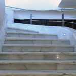 Remarkable Arch Interior Stone Steps Designs