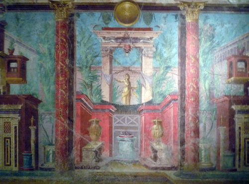 Roman Wall Painting Styles