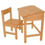 Rubberwood Desk Children Desks