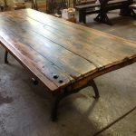 Salvaged Door Tables Traditional Dining Providence Lorimer