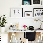 Scandinavian Style Home Office Sage