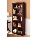 Shelf Bookcase Solid Wood Modern Home Book Storage Cabinet Ashwood Cherry New