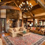 Silverthorne Residence Rustic Living Room Other Rich Vossler